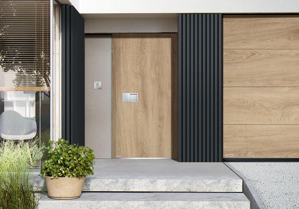 Drzwi zewnętrzne - wejściowe - z montażem - Zielona Góra
